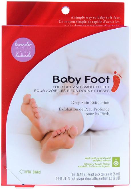 Baby Foot Easy Pack - Original Deep Skin Exfoliation for Feet (2.4 fl. oz. / 70 mL)
