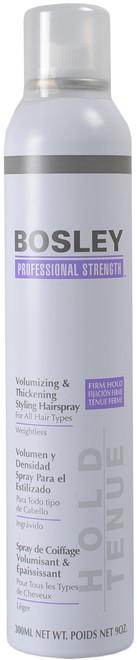 Bosley Firm Hold Volumizing & Thickening Styling Hairspray (9 fl. oz. / 300 mL)
