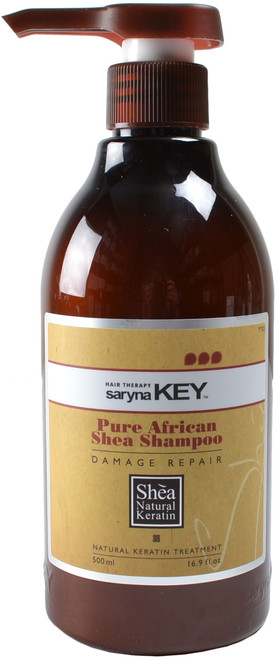 Saryna Key Damage Repair Pure African Shea Shampoo (16 fl. oz. / 500 mL)