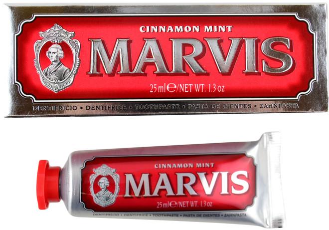 Marvis Mint Cinnamon Toothpaste Travel Size Toothpaste (1.3 fl. oz. / 25 mL)