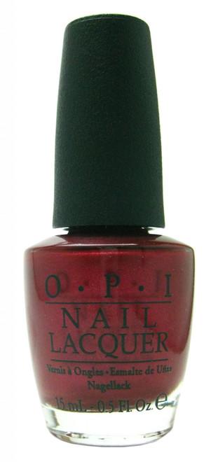 OPI I'm Not Really A Waitress nail polish