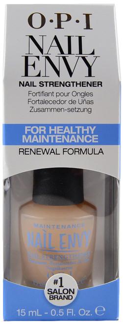OPI Nail Envy Nail Strengthener For Healthy Maintenance (0.5 fl. oz. / 15 mL)