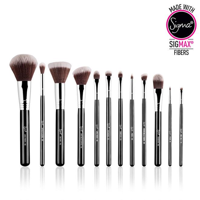 Sigma Beauty 12 pc Essential Brush Kit - Mr. Bunny