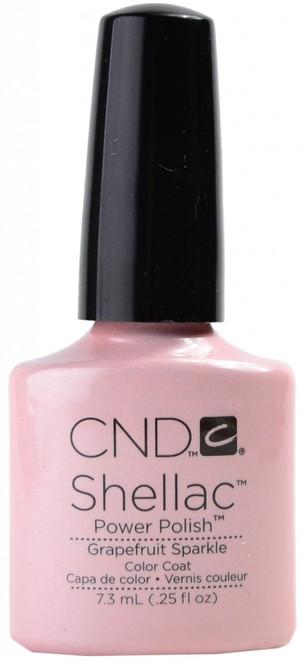 CND Shellac Grapefruit Sparkle