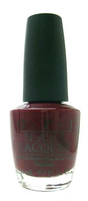 OPI Malaga Wine nail polish