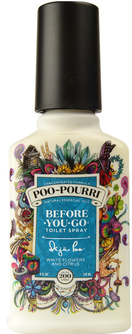 Large Deja Poo Poo-Pourri Before You Go Toilet Spray (4 fl. oz. / 118 mL)