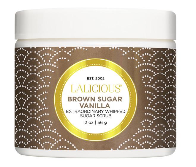 Lalicious Small Brown Sugar Vanilla Extraordinarily Whipped Sugar Scrub (2 oz. / 56 g)