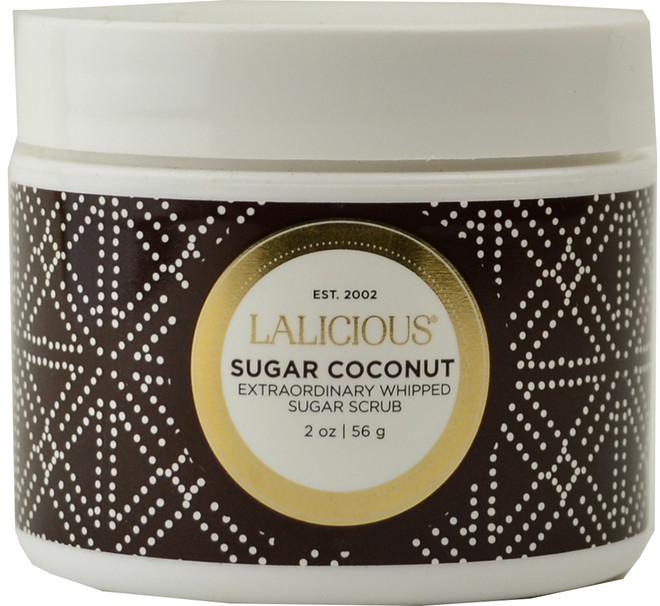 Lalicious Small Sugar Coconut Extraordinarily Whipped Sugar Scrub (2 oz. / 56 g)