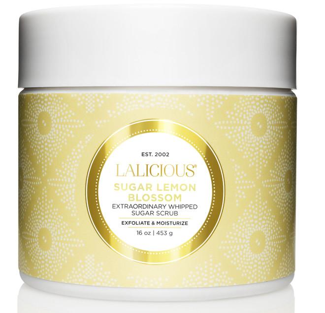 Lalicious Medium Sugar Lemon Blossom Extraordinary Whipped Sugar Scrub (16 oz. / 453 g)