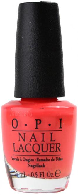 OPI I Eat Mainely Lobster nail polish