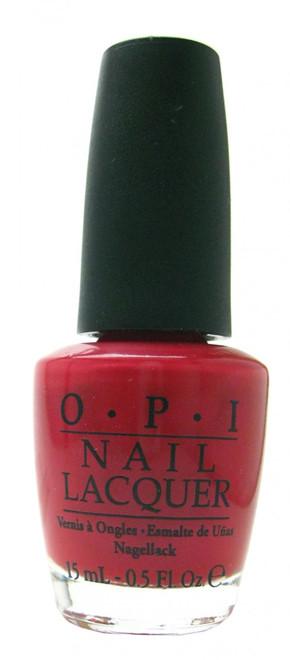 OPI Opi Red nail polish