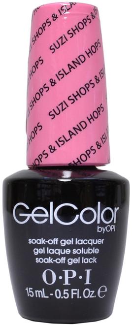 OPI Gelcolor Suzi Shops & Island Hops (UV / LED Polsih)