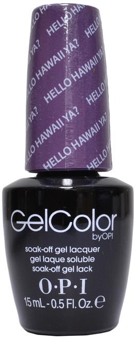 OPI Gelcolor Hello Hawaii Ya? (UV / LED Polsih)