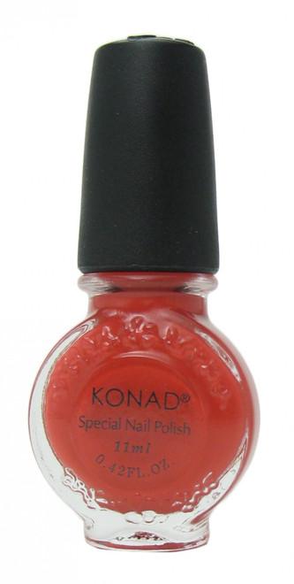 Dark Orange (Special Polish) by Konad Nail Stamping