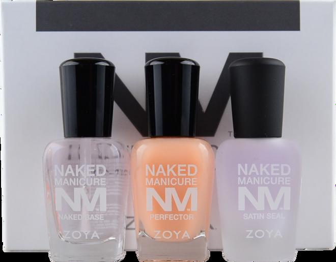 Zoya 3 pc Naked Manicure Men's Nail Perfecting Kit