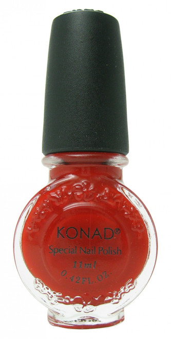 Red (Special Polish) by Konad Nail Stamping