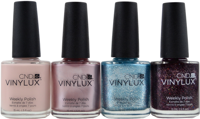 4 pc CND Vinylux Aurora Collection