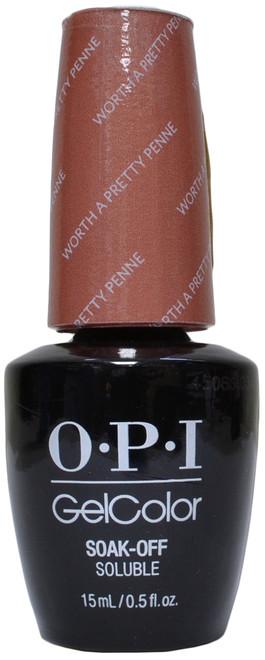 OPI Gelcolor Worth a Pretty Penne (UV / LED Polish)