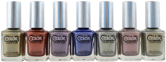 Color Club 7 pc 2015 Halo Hues Collection