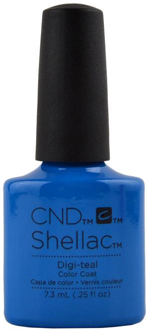 CND Shellac Digi-Teal (UV / LED Polish)