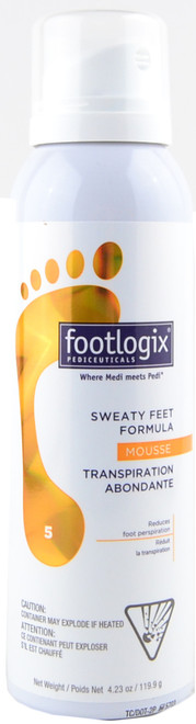 Footlogix #5 Sweaty Feet Formula (4.23 oz. / 119.9 g)