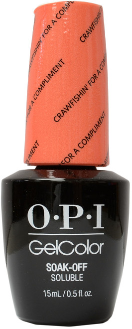 OPI Gelcolor Crawfishin' For A Compliment