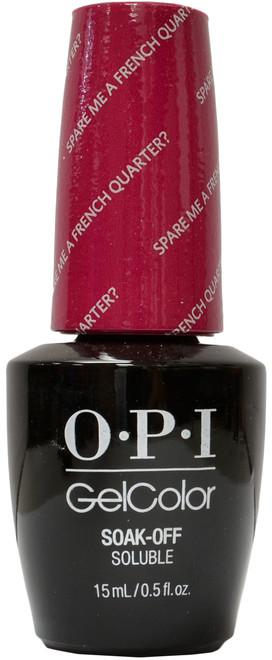 OPI Gelcolor Spare Me A French Quarter?
