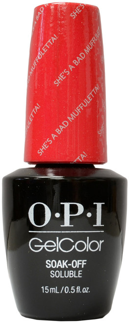 OPI Gelcolor She's A Bad Muffuletta!