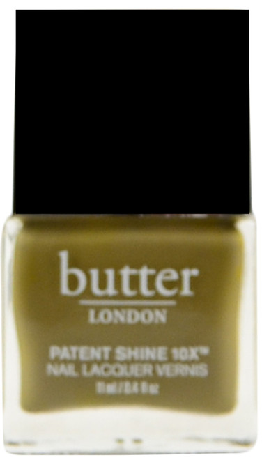 Butter London British Khaki Patent Shine 10X (Week Long Wear)