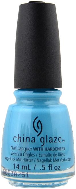 China Glaze What I Like About Blue