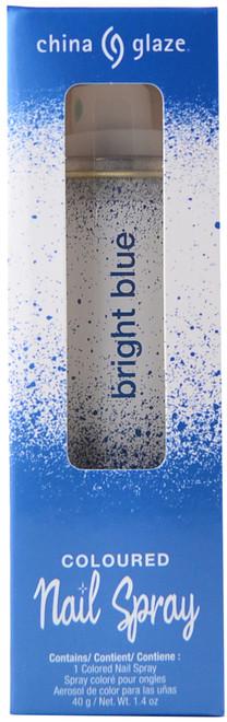China Glaze Bright Blue Spray On Polish