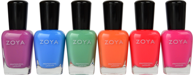 Zoya 6 pc Sunsets Collection