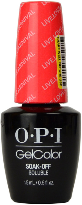 OPI Gelcolor Live.Love.Carnaval (UV / LED Polish)