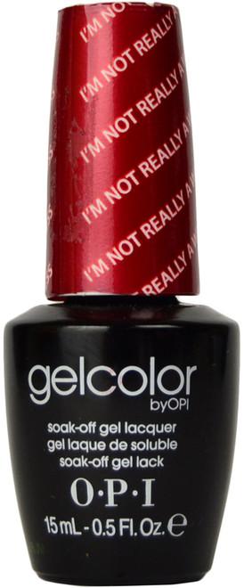 OPI Gelcolor I'm Not Really A Waitress (UV / LED Polish)