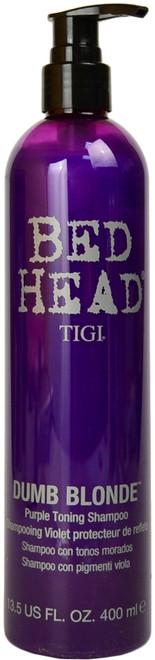 Bed Head Dumb Blonde Purple Toning Shampoo (13.5 fl. oz. / 400 mL)