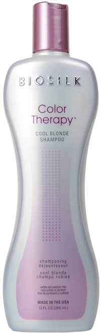 Biosilk Color Therapy Cool Blonde Shampoo (12 fl. oz. / 355 mL)