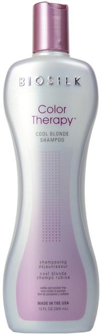 Biosilk Color Therapy Cool Blonde Shampoo (12 fl. oz. / 355 mL)