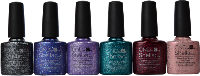 CND Shellac 6 pc Starstruck Collection