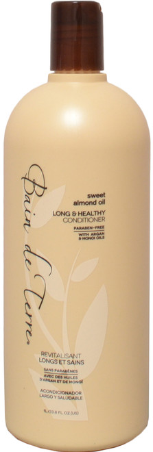 Bain De Terre Sweet Almond Oil Long & Healthy Conditioner (33.8 fl. oz. / 1 L)