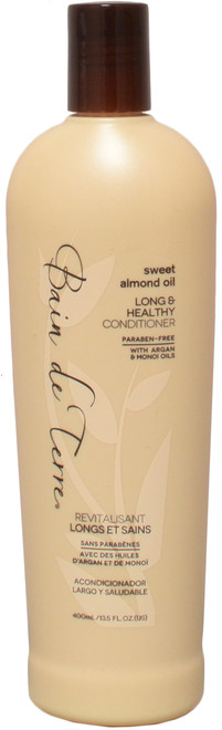 Bain De Terre Sweet Almond Oil Long & Healthy Conditioner (13.5 fl. oz. / 400 mL)