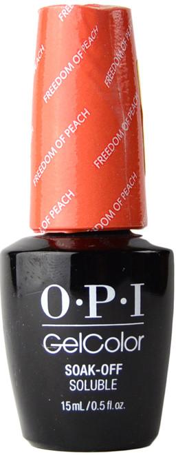 OPI Gelcolor Freedom Of Peach (UV / LED Polish)