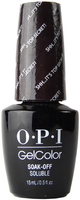 OPI Gelcolor Shh...It's Top Secret! (UV / LED Polish)
