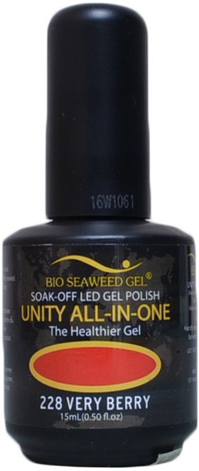 Bio Seaweed Gel Very Berry Unity All-In-One (UV / LED Polish)