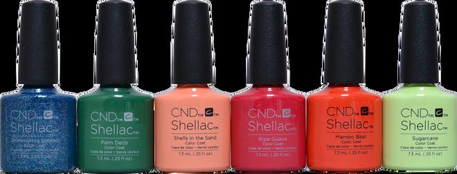 CND Shellac 6 pc Rhythm & Heat Collection