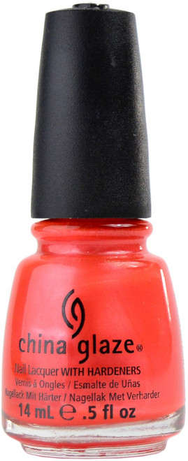 China Glaze Coral Star nail polish