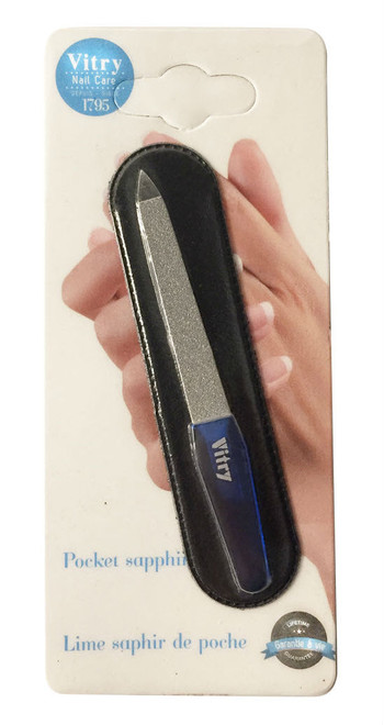 Vitry Pocket Sapphire Nail File With Case