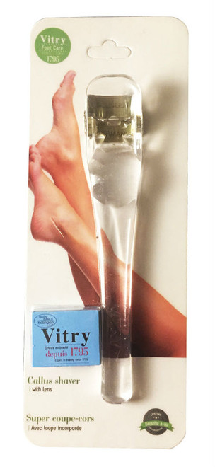Vitry Callus Shaver With Magnifying Lens