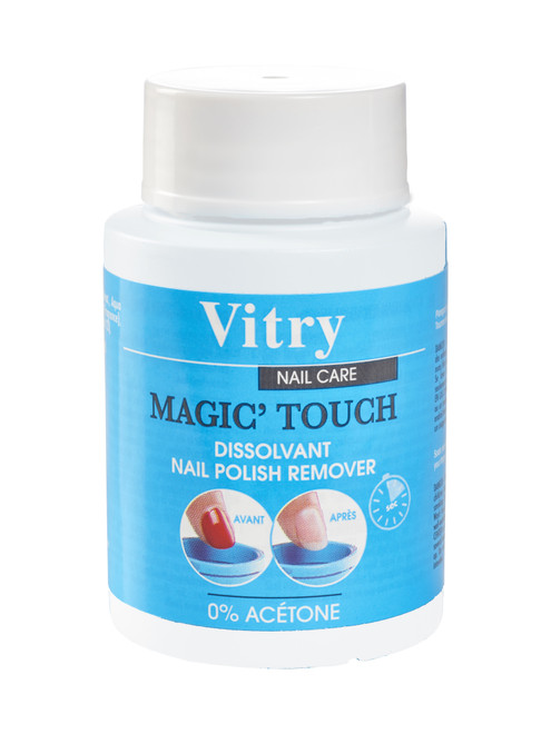 Magic Touch Acetone-Free Nail Polish Remover (75 mL) by Vitry