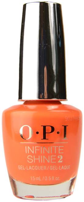 OPI Infinite Shine Santa Monica Beach Peach (Week Long Wear)
