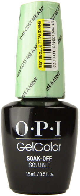 OPI Gelcolor This Cost Me A Mint (UV / LED Polish)